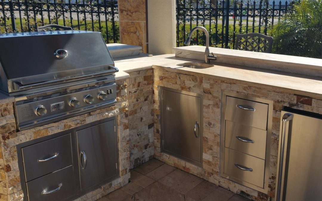 Take Your Outdoor Living to the Next Level with an Outdoor Kitchen!